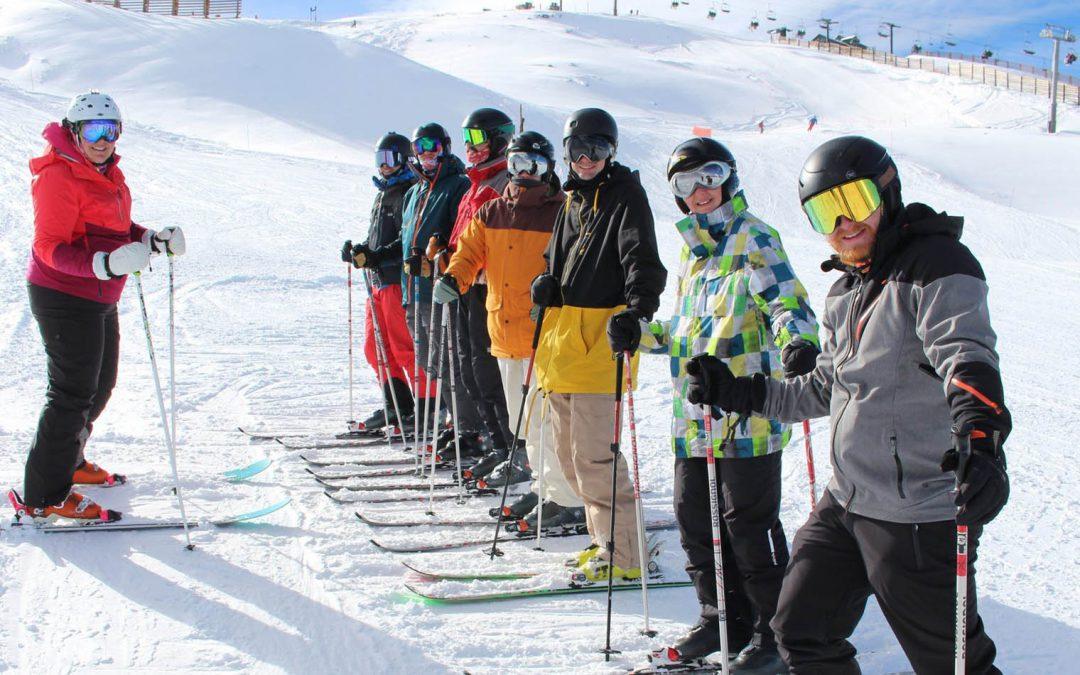 Škola skijanja za odrasle